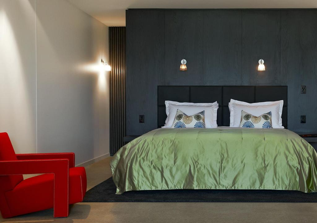 A bed or beds in a room at Port Phillip Estate