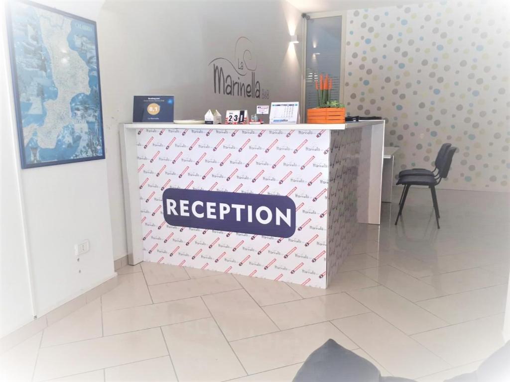 Hall o reception di La Marinella