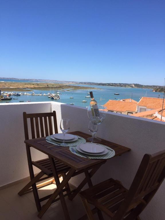 A balcony or terrace at Casa Villa D'Alvor
