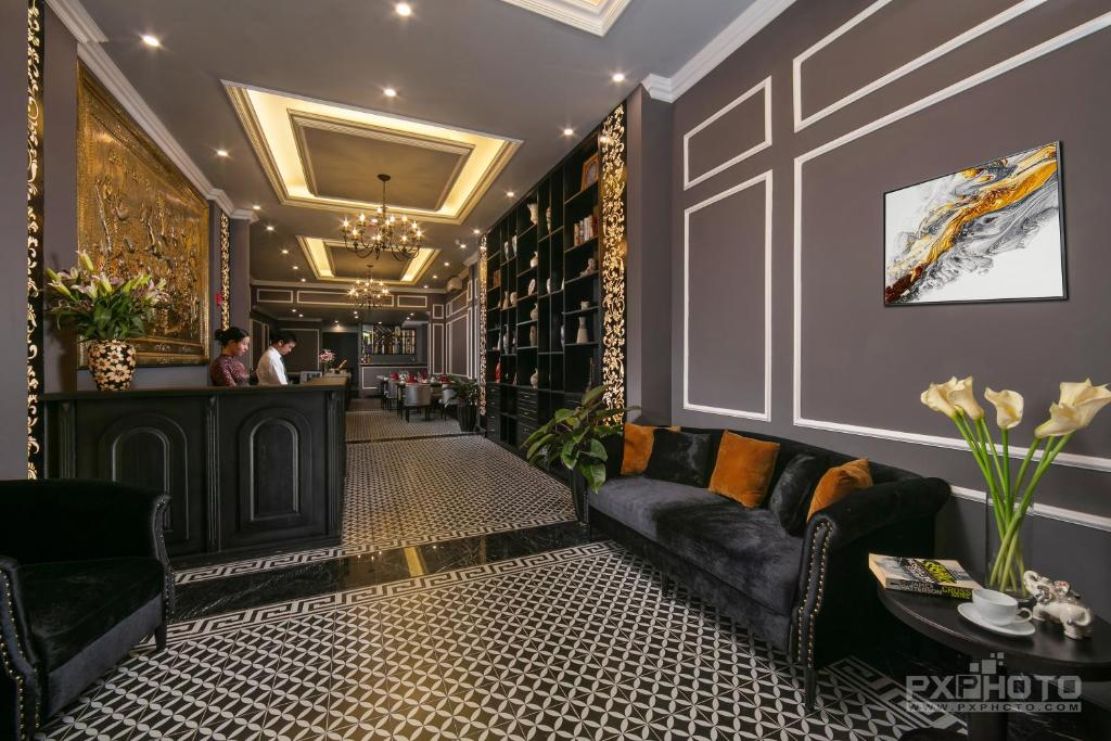 The lobby or reception area at Matilda Boutique Hotel & Spa