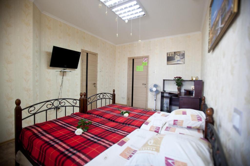 Ліжко або ліжка в номері Хостел Freedom