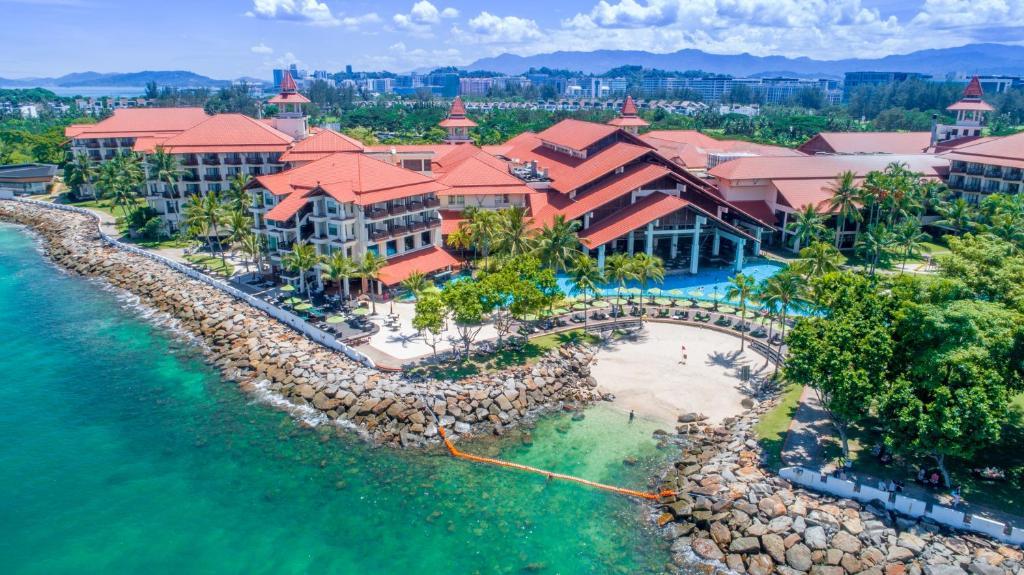 A bird's-eye view of The Magellan Sutera Resort