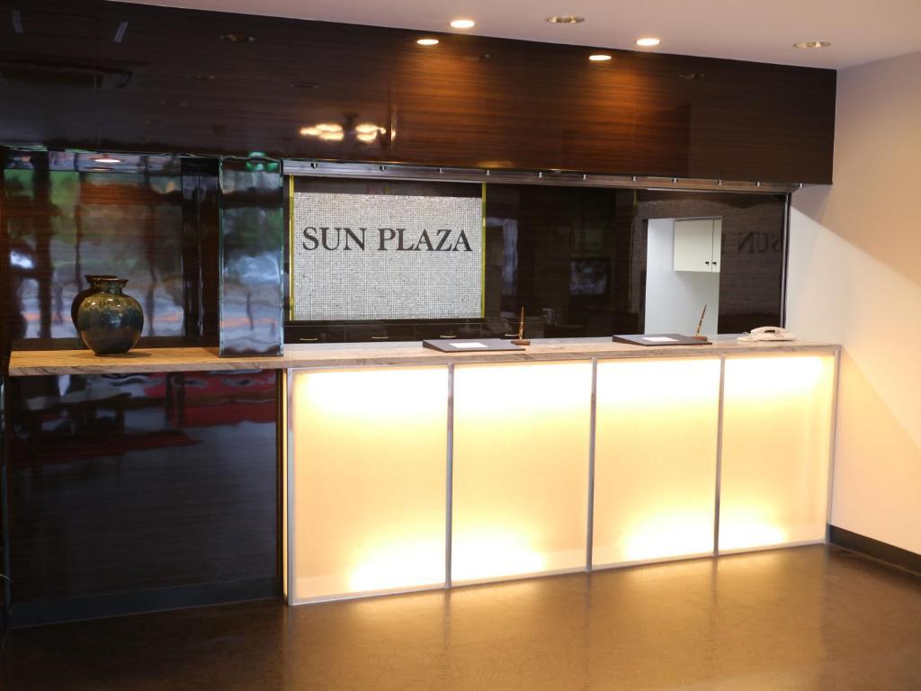 The lobby or reception area at Hotel Sun Plaza Sakai