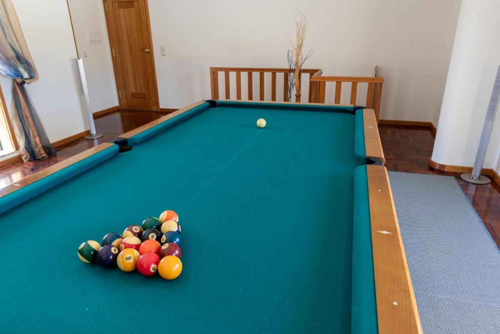 A pool table at Esmoriz Land Sea View by MP
