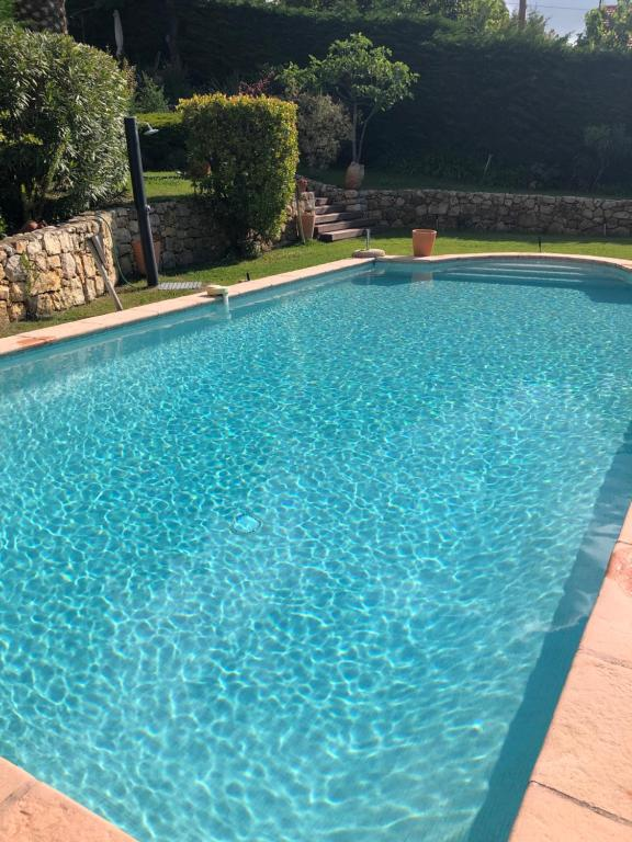 The swimming pool at or close to La Bastide des Anges