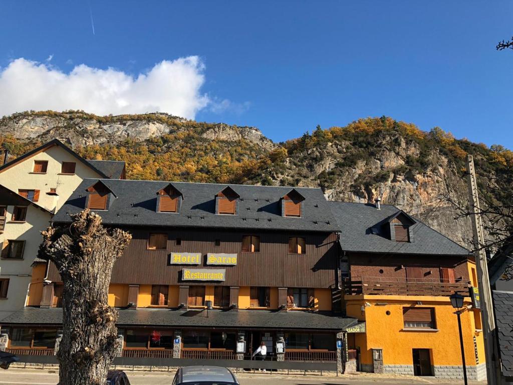 Hotel Sarao en invierno
