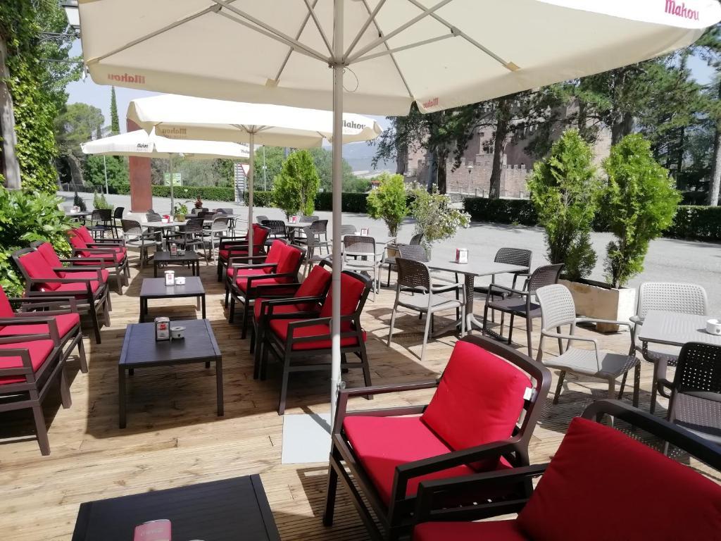 Restaurant ou autre lieu de restauration dans l'établissement Hotel Xabier
