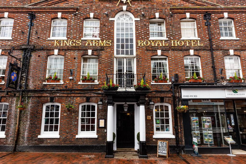 Kings Arms and Royal Hotel - Laterooms