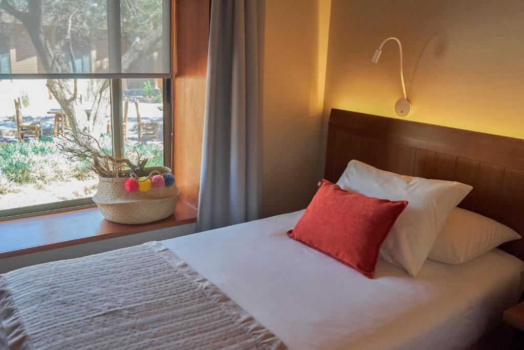 Cama ou camas em um quarto em Hotel La Casa de Don Tomás