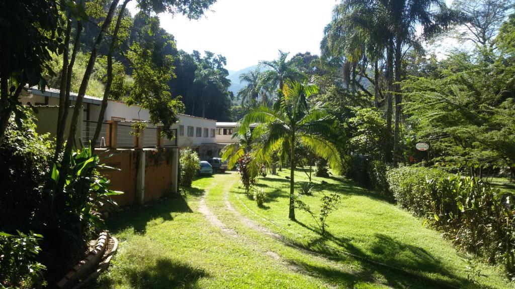 A garden outside Pousada Bem Querer