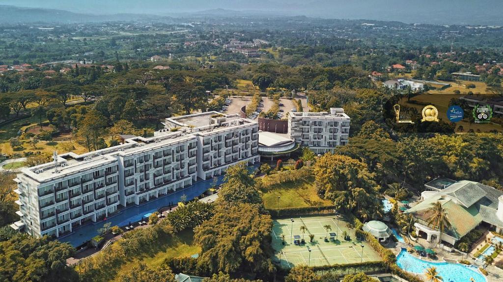 R Hotel Rancamaya a vista de pájaro