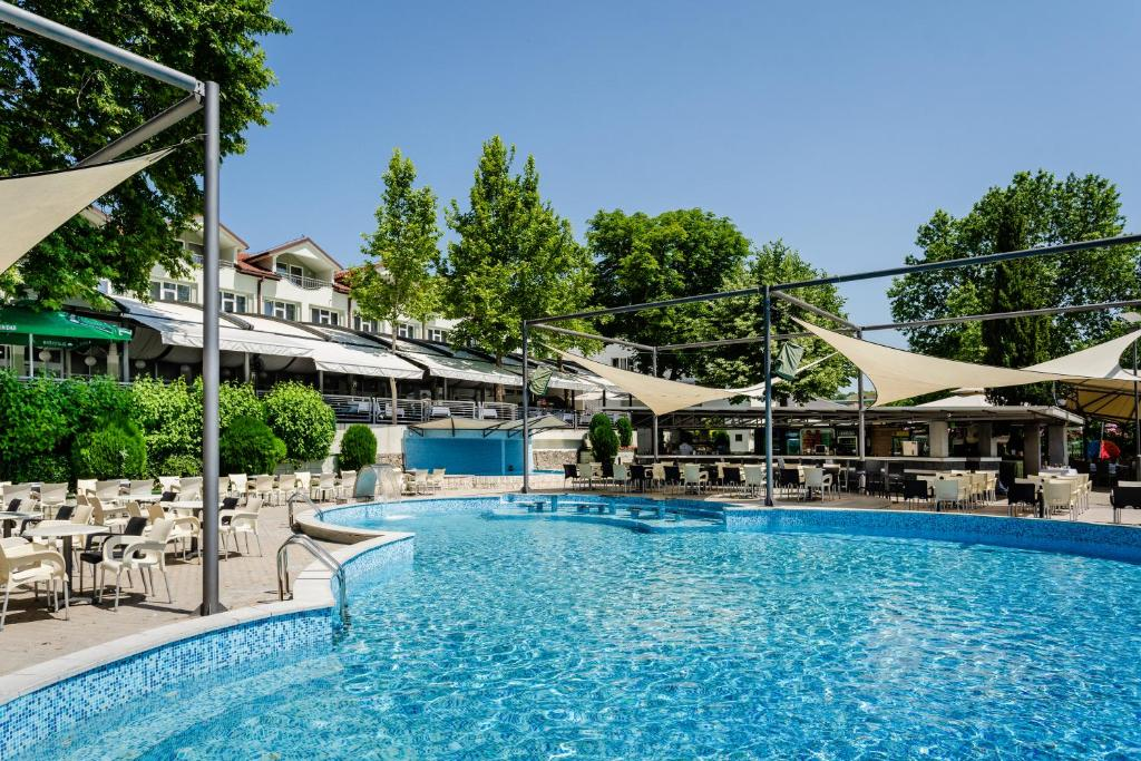 The swimming pool at or near Romantique Veles Hotel