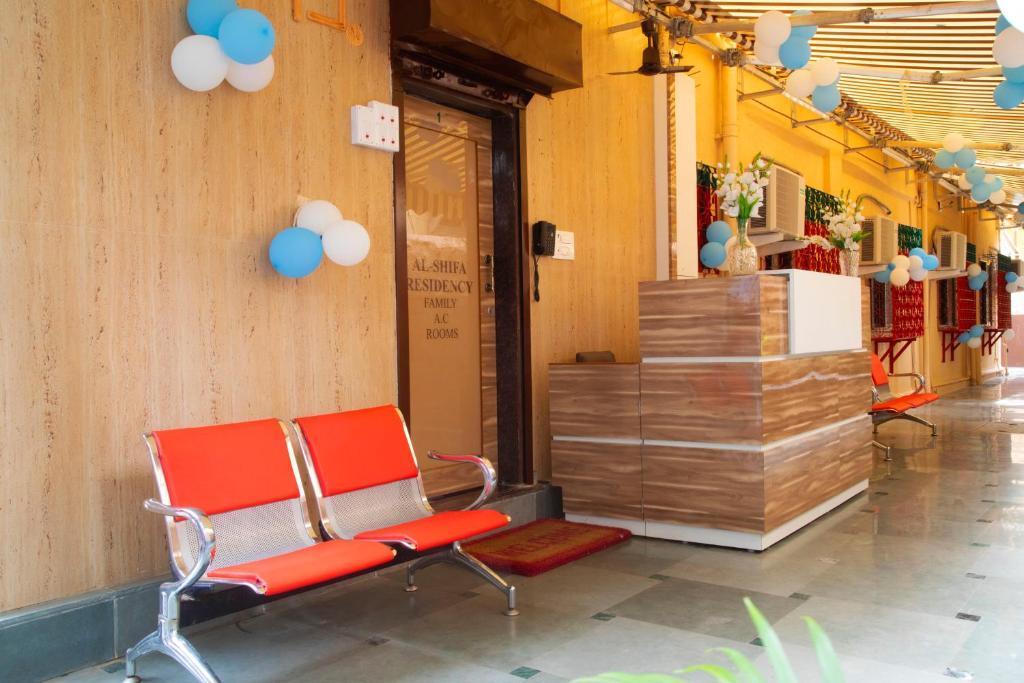 The lobby or reception area at AL Shifa Residency