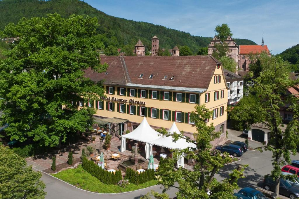 A bird's-eye view of Hotel Kloster Hirsau