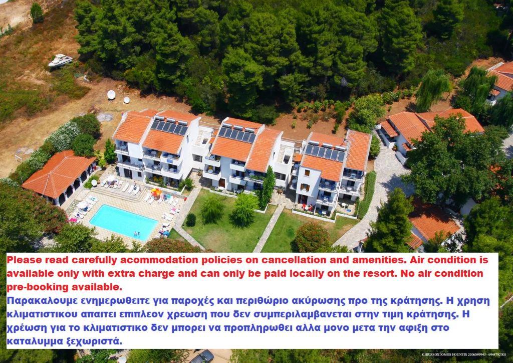 Vista aerea di Amalia Apartments