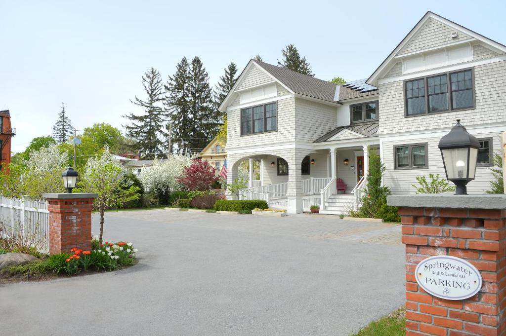 The building in which the bed & breakfast is located
