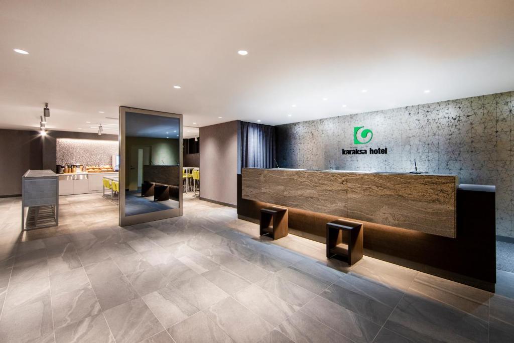 The lobby or reception area at karaksa hotel TOKYO STATION