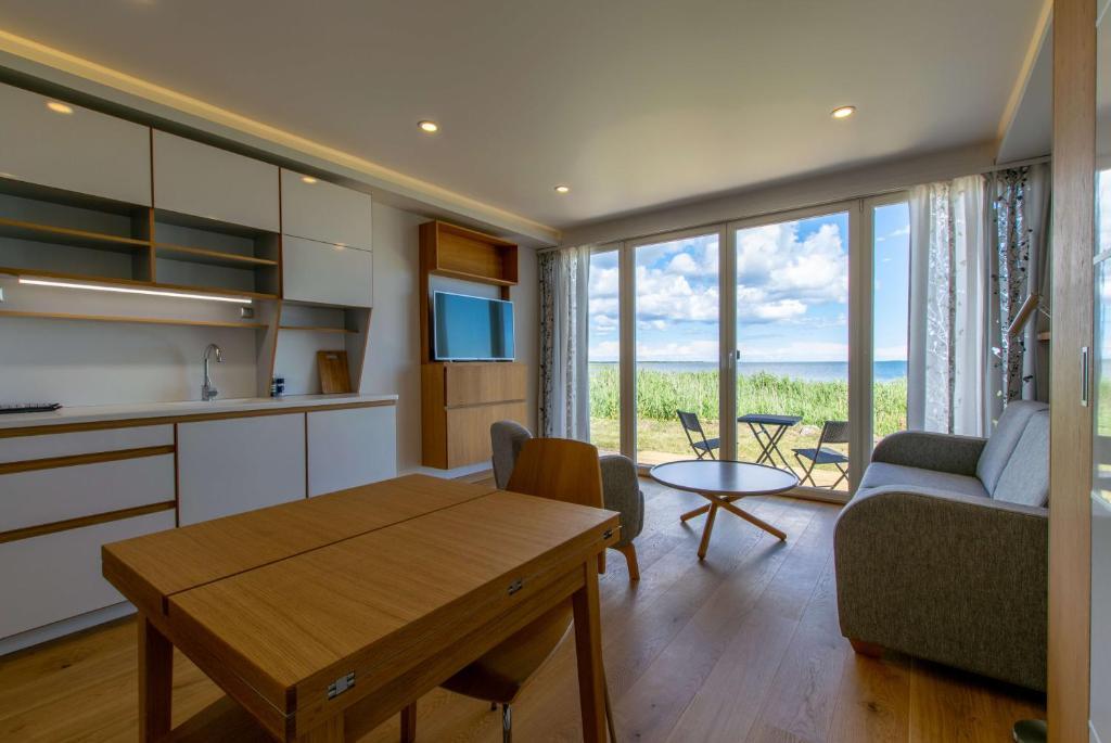 Istumisnurk majutusasutuses Modern Sea View Apartments by Villa Kuus Sõlme