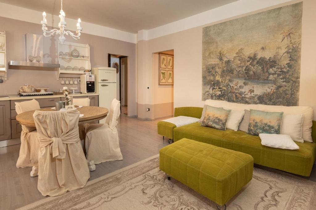 Area soggiorno di Appartamento Biancospino