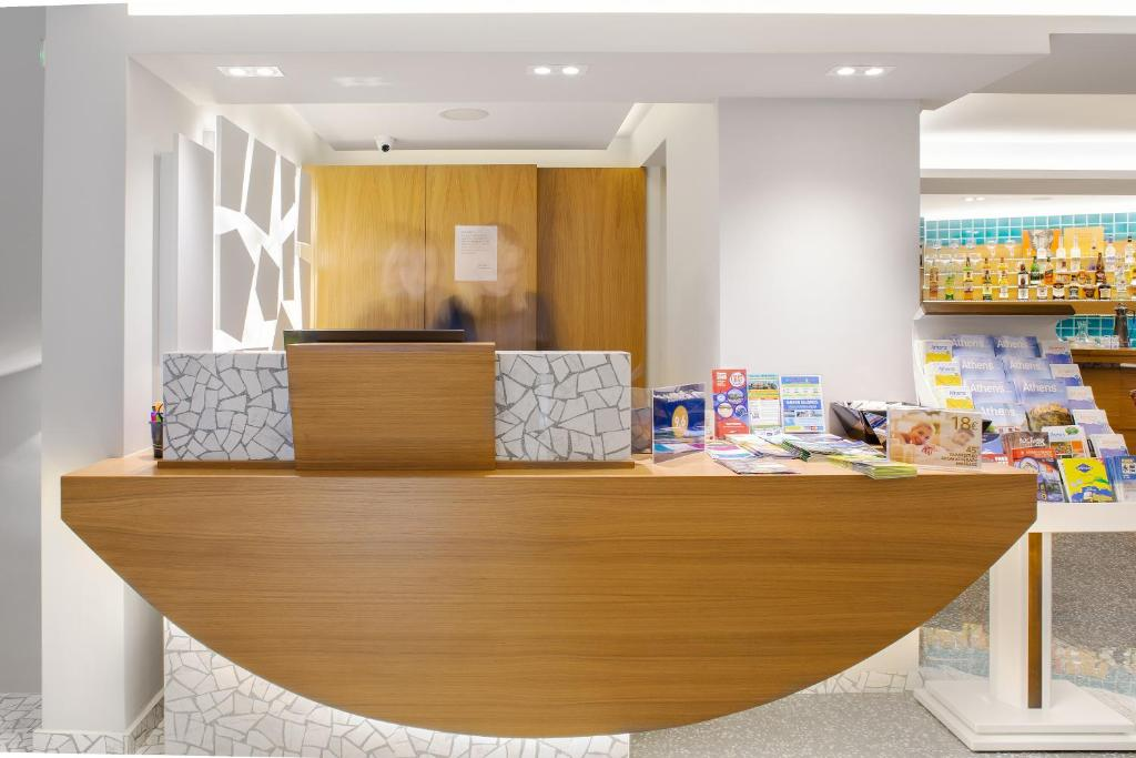 The lobby or reception area at 360Degrees Pop Art Hotel