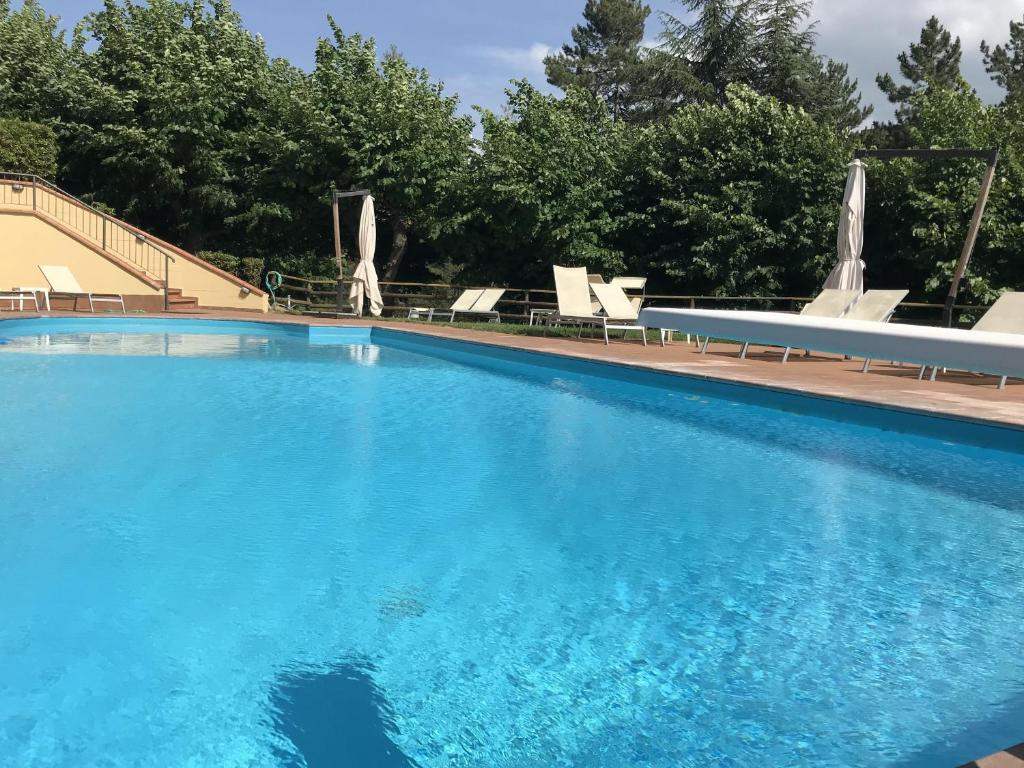 The swimming pool at or near Grand Hotel Admiral Palace