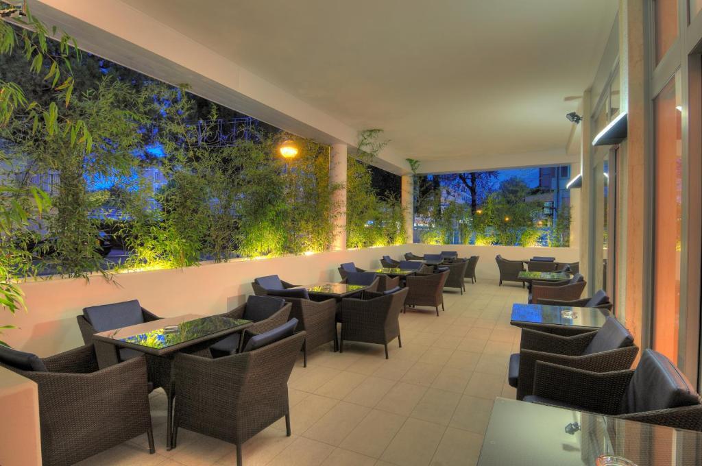 Restaurace v ubytování Hotel Firenze