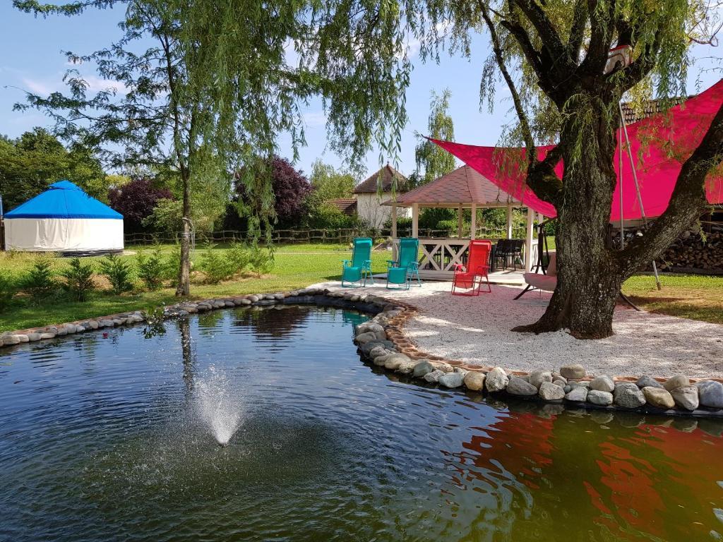 The swimming pool at or near Chantalame