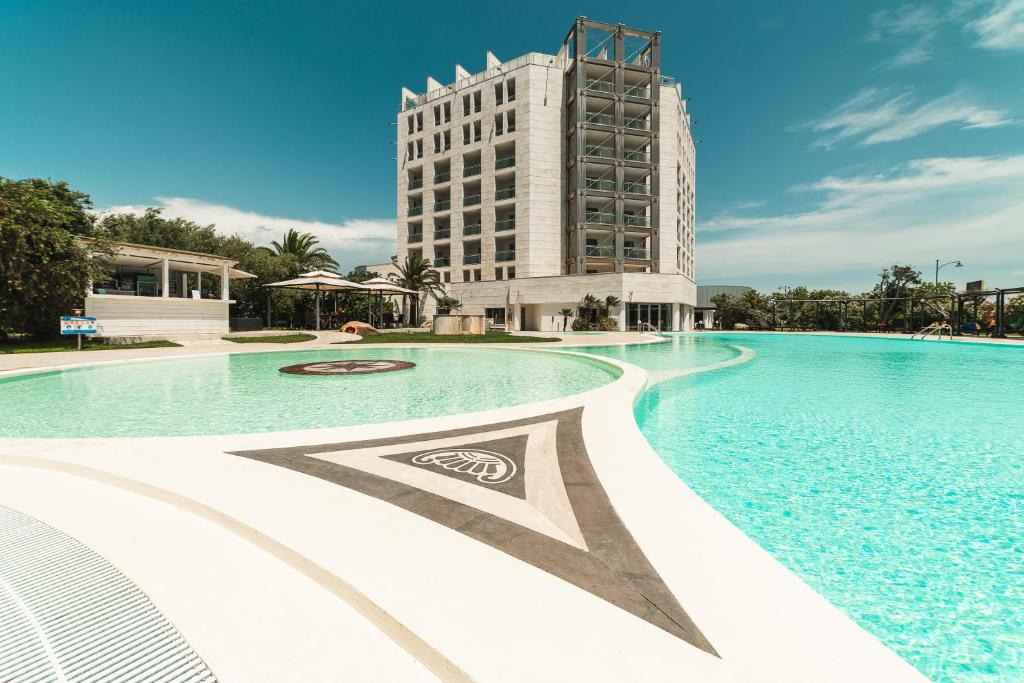 The swimming pool at or near DoubleTree By Hilton Olbia - Sardinia