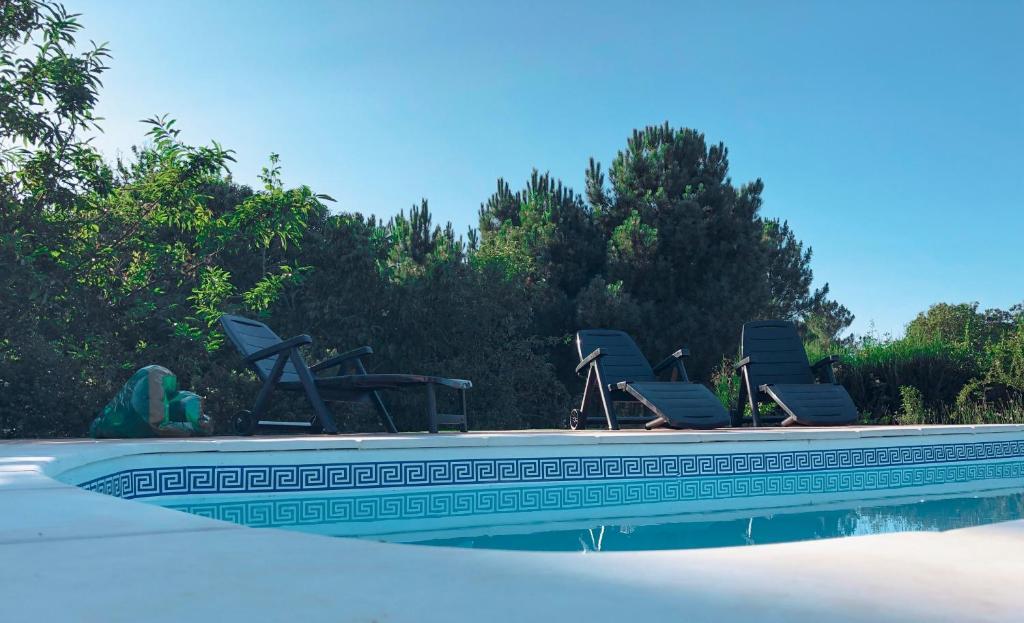The swimming pool at or near Casa Idalia
