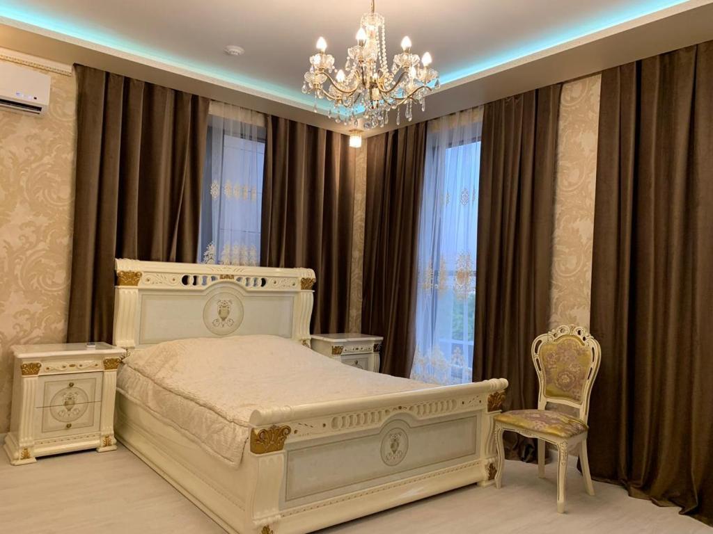 Отель Империяにあるベッド