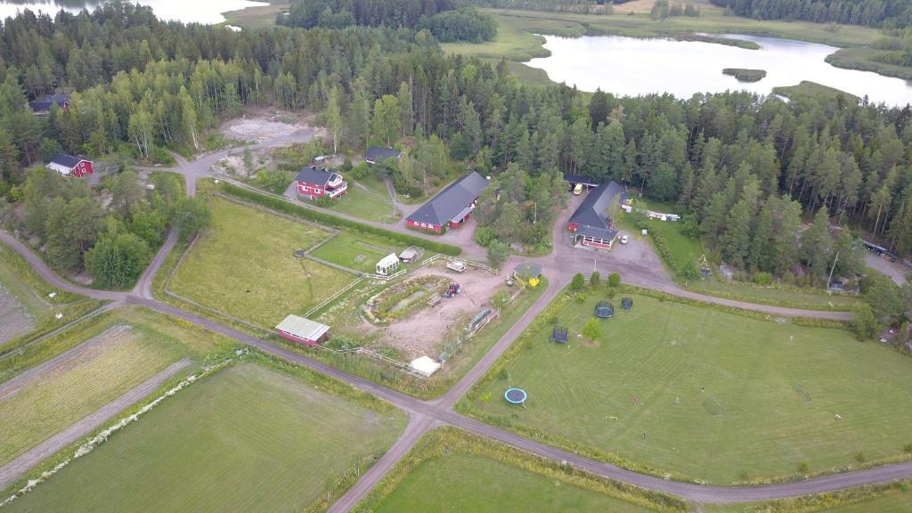 A bird's-eye view of Lomahyppäys