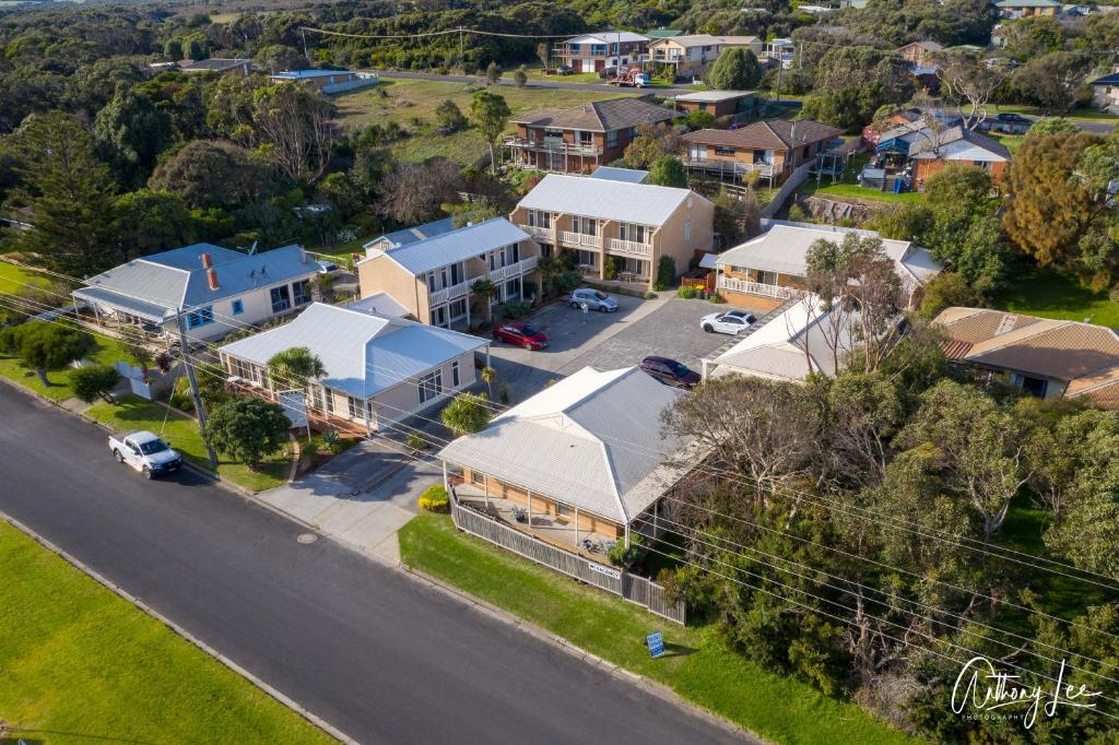 A bird's-eye view of Port Campbell Parkview Motel & Apartments