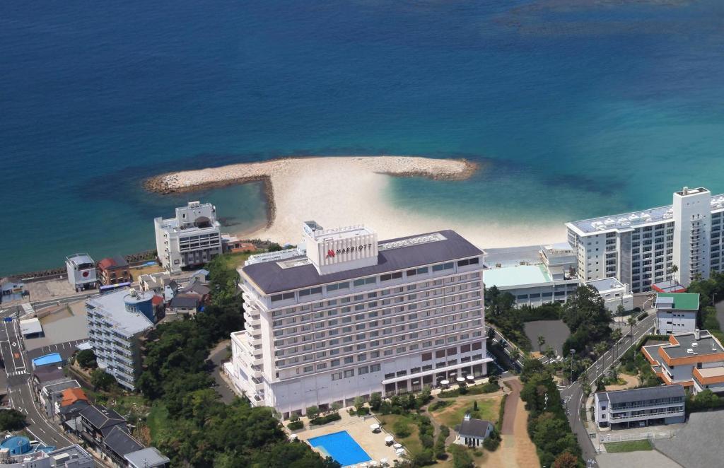 A bird's-eye view of Nanki-Shirahama Marriott Hotel