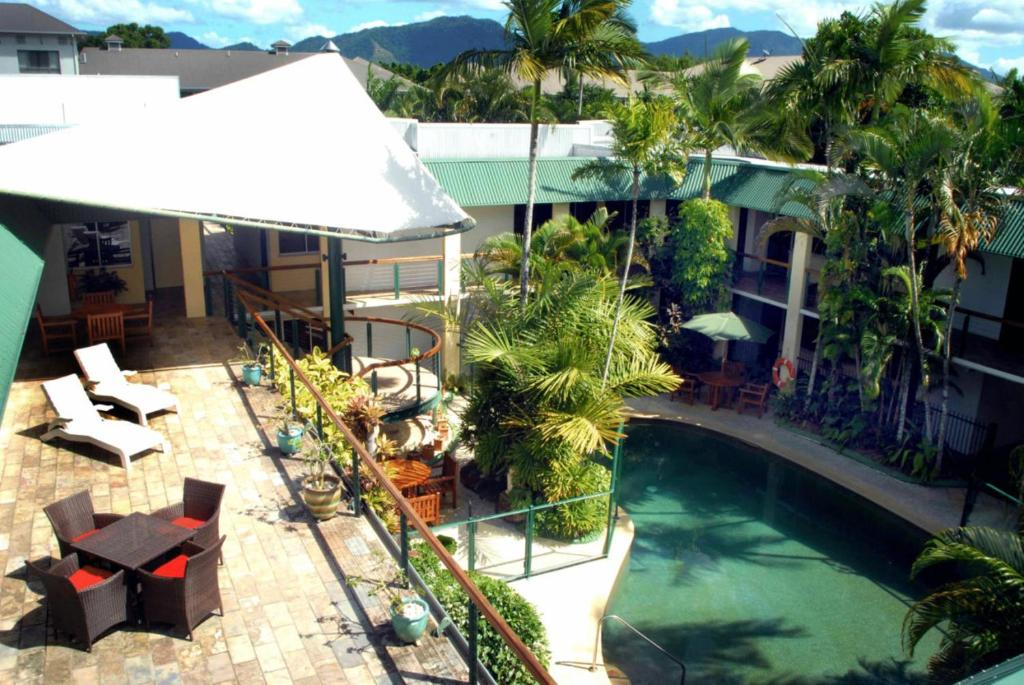 A view of the pool at Bay Village Tropical Retreat & Apartments or nearby