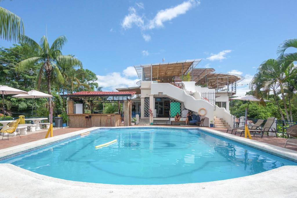The swimming pool at or near Selina Manuel Antonio