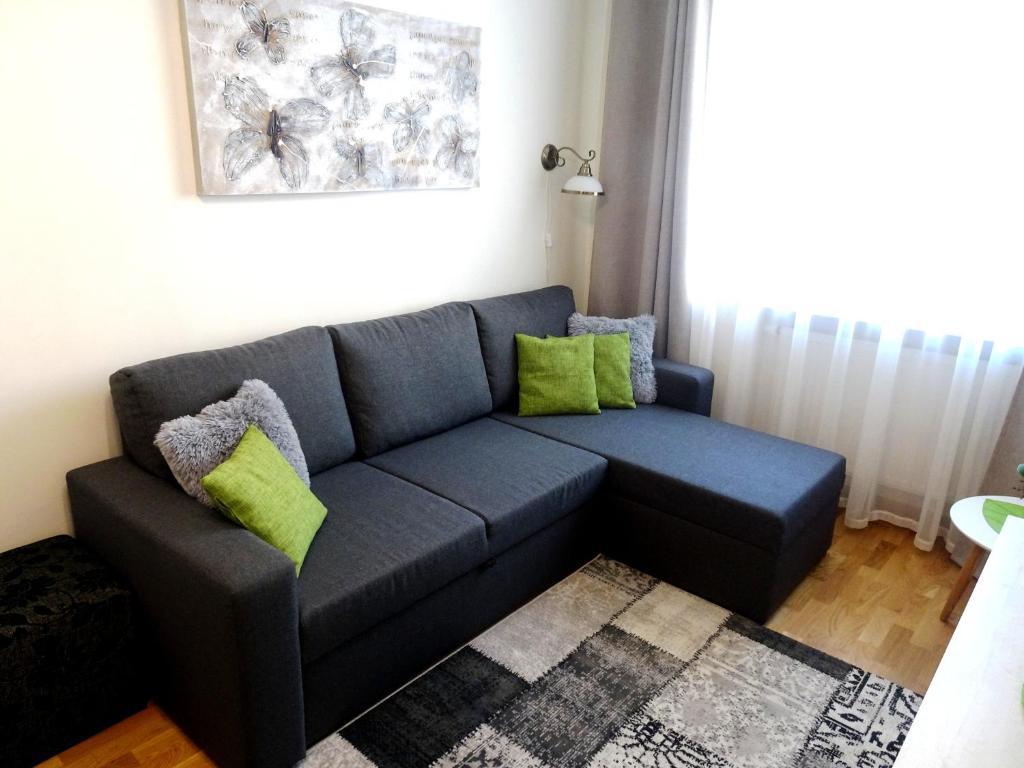 A seating area at Majaka Apartment