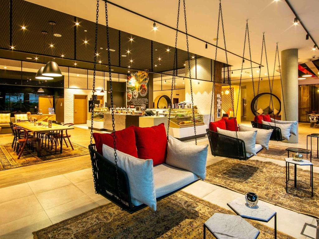 A restaurant or other place to eat at Ibis Al Barsha