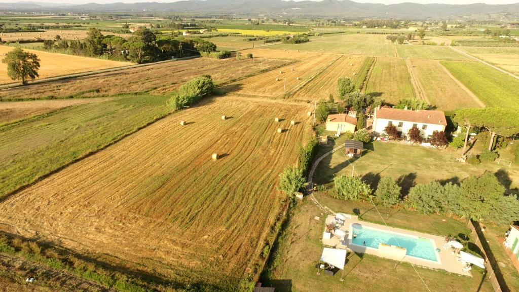 Vista aerea di Il Bosco Agriturismo