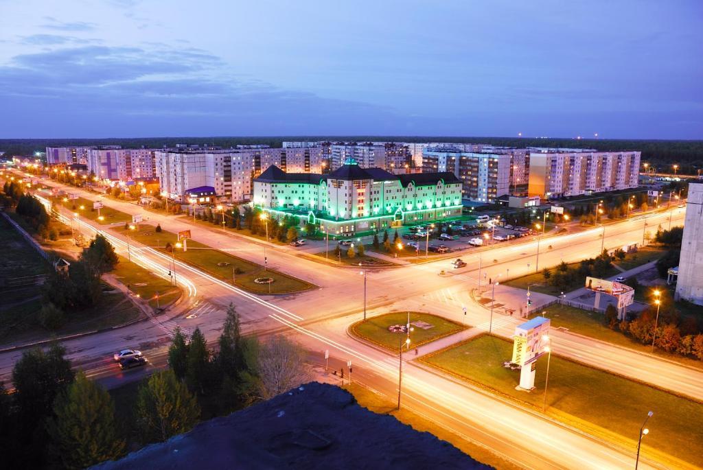 Slavyanskaya Hotel с высоты птичьего полета