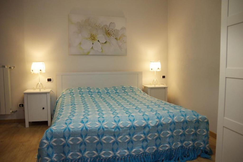 Letto o letti in una camera di La Piccola Oasi Toscana