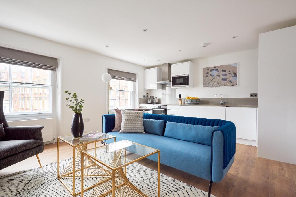 An apartment at the Sonder at Inverness Mews, Bayswater.