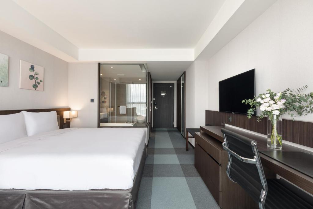 豪華特大雙人床房的相片(第 2 張)