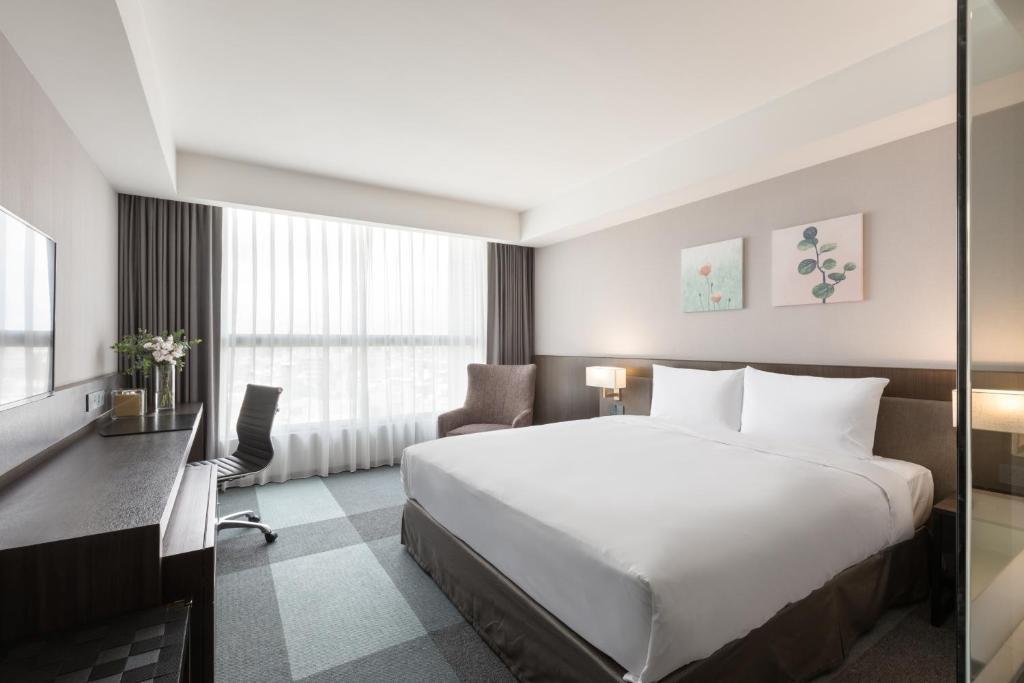 豪華特大雙人床房的相片(第 1 張)