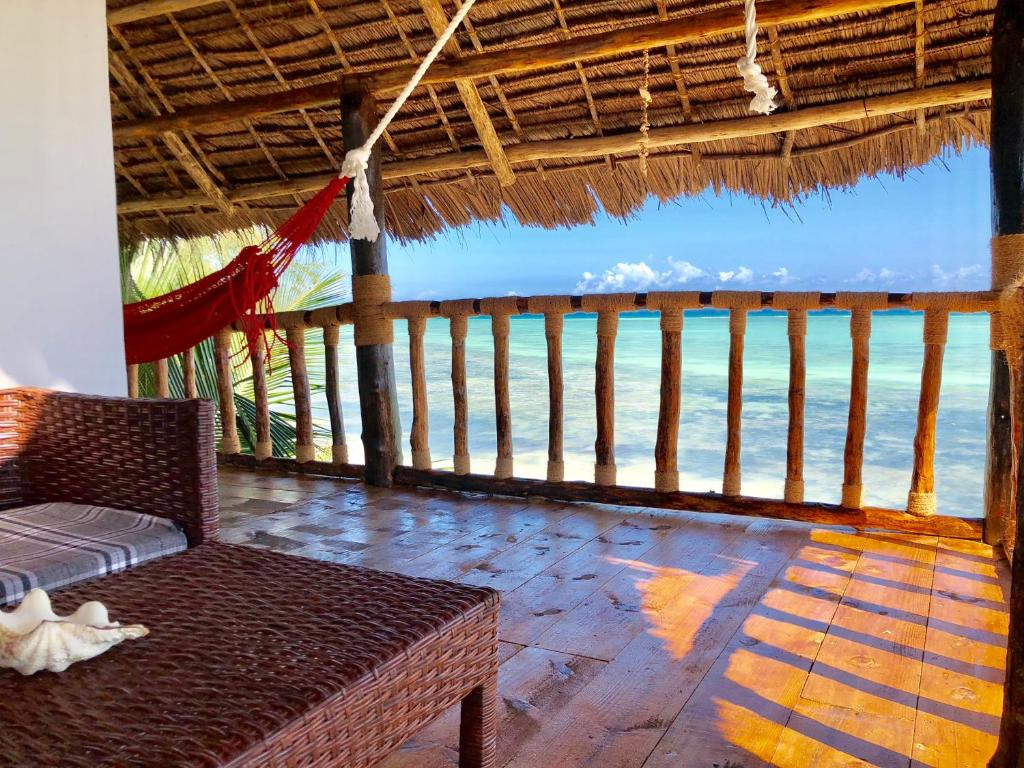 A balcony or terrace at Promised Land Lodge