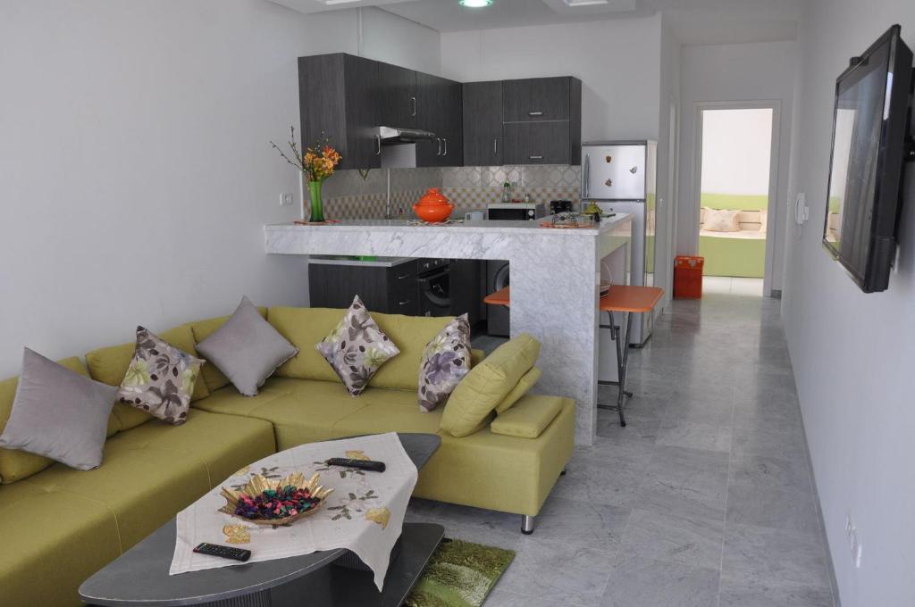 Neue Wohnung, ruhig, 150 m vom Strand, free Wi-Fi