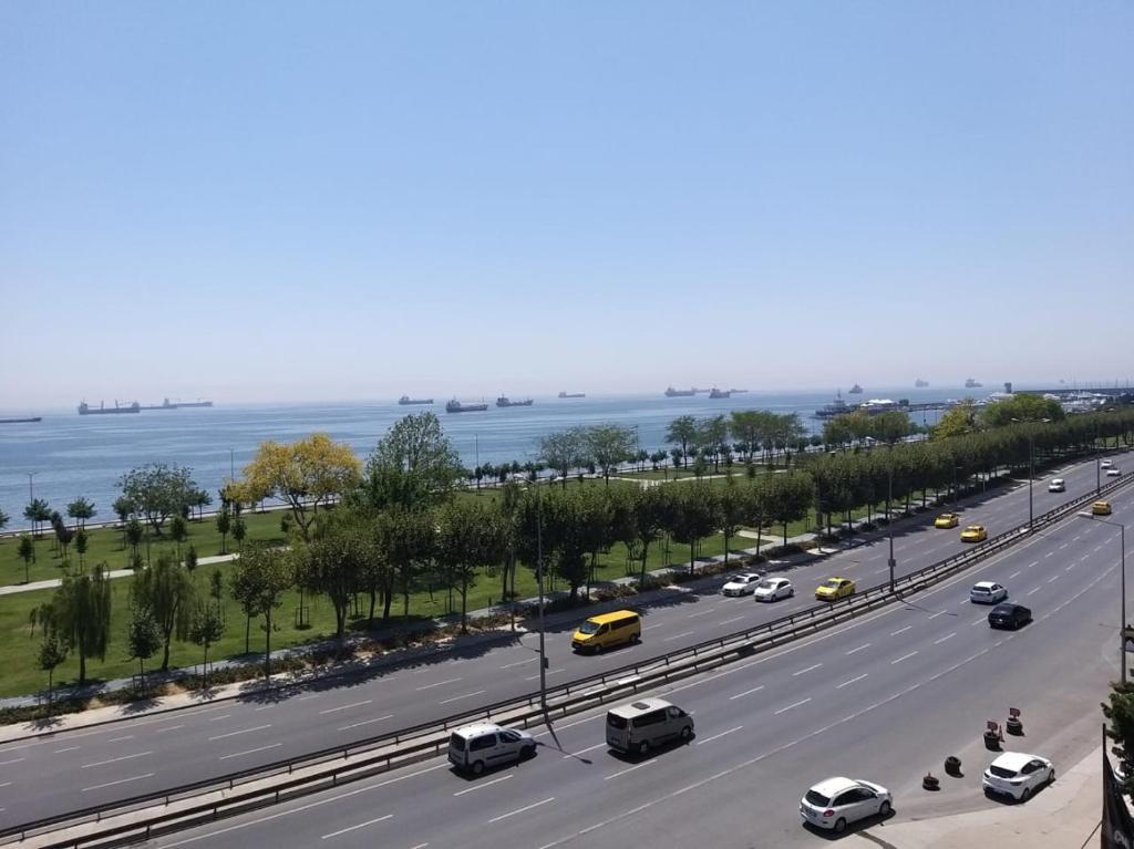 اسطنبول بكركوي طريق الساحل
