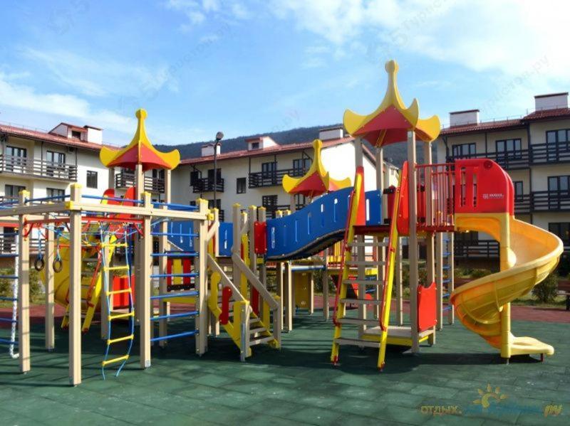 Детская игровая зона в Резиденция Утриш