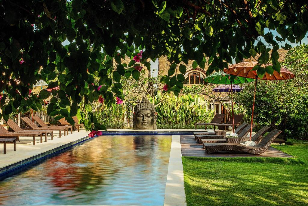 The swimming pool at or near United Colors of Bali