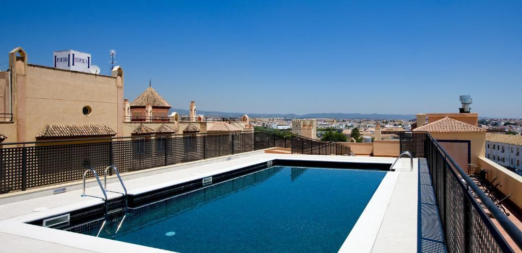 The swimming pool at or near Hesperia Córdoba