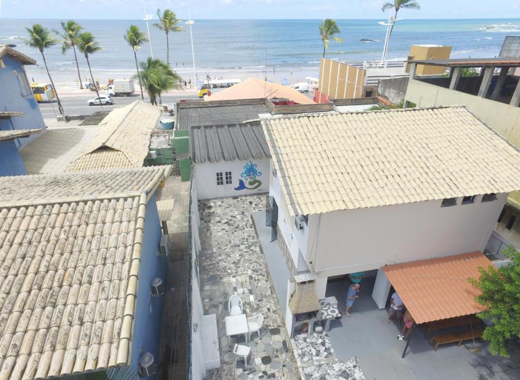 A bird's-eye view of Hostel Quintal da Sereia